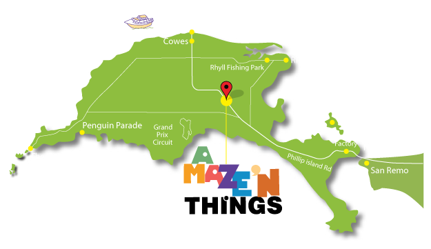 map - A Maze\'N Things